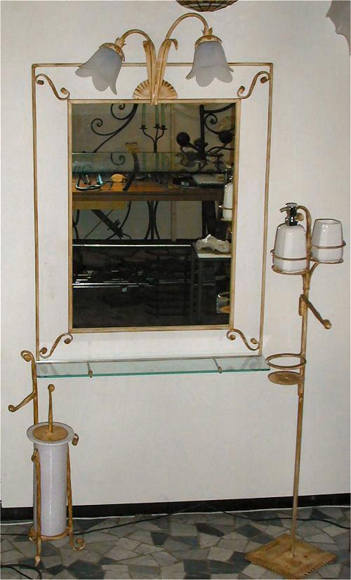 L 39 arte del ferro battuto - L arte del bagno ...