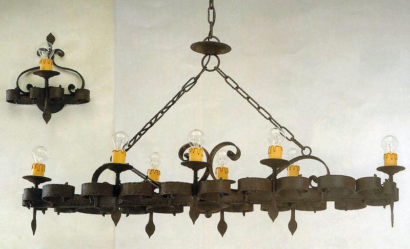 lampadari medievali : Lampade Shabby Chic Pinterest : ... Classico Rustico Country Shabby ...