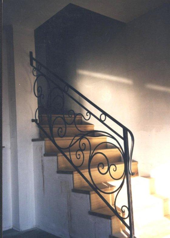 L 39 arte del ferro battuto for Ringhiere usate